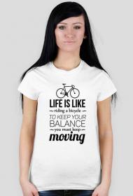 Bicycle - koszulka damska