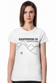 Mountains - koszulka damska