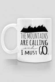 The mountains are calling - kubek dla miłośników gór