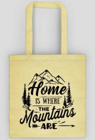 Home is where the mountains are  2- eko torba