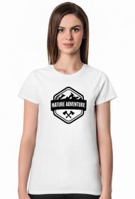 Nature adventure - koszulka damska