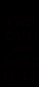 Keep calm and jingle bells - koszulka damska na święta