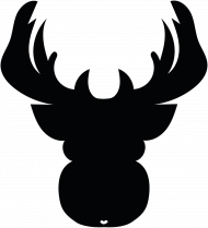 Renifer - eko torba na święta