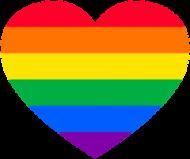 LGBT - kubek serce