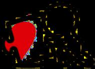 Miłość 2 - kubek na Walentynki dla par puzzle