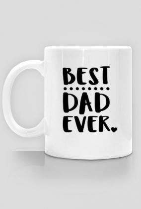 Best dad ever - kubek na dzień ojca