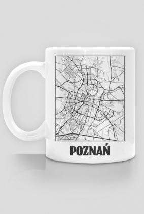 Mapa Poznań - kubek