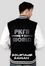 Soufiane's college jacket