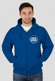 PKFR.WORLD zipped hoodie