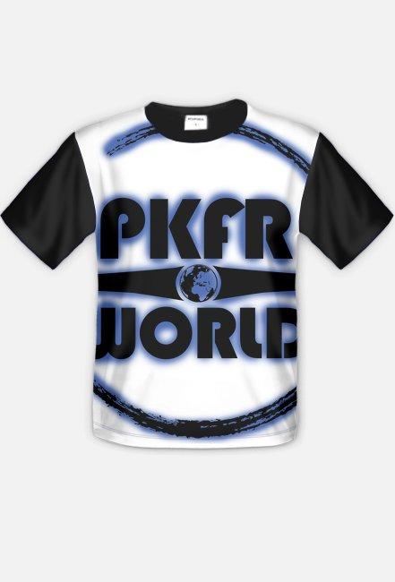Full print shirt - Round - Blue