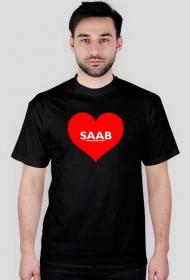 Koszulka męska Kocham SAABa