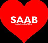 Saszetka Kocham SAABa