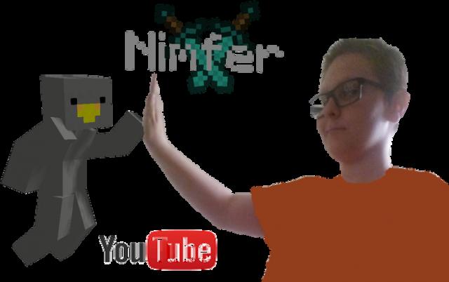 Nimfer Minecraft bluza V.2 bez kaptura