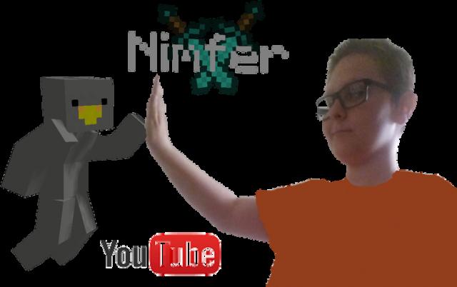 Nimfer Minecraft bluza V.2 z kapturem