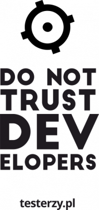 Do not trust developers