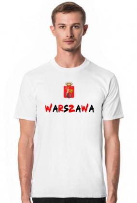 7c315a926 KOSZULKA WARSZAWA - koszulki męskie w Mega Koszulki