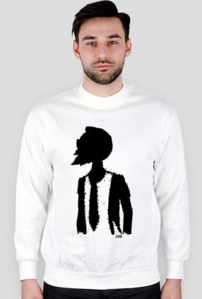 LETKO biała bluza - hipster