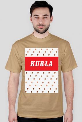 t-shirt nosacz kurła logo
