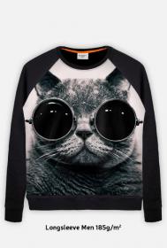 Hipster Cat Longsleeve
