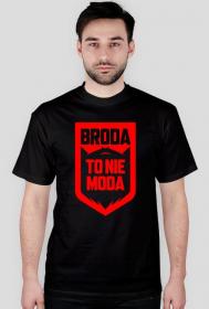 Koszulka Broda To Nie Moda NEW Red