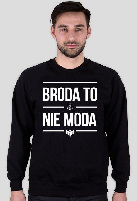 Bluza Broda To Nie Moda Black