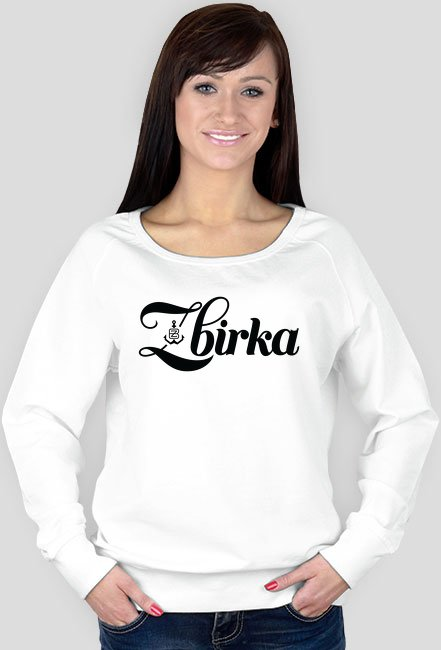 Bluza Zbirka White/Grey