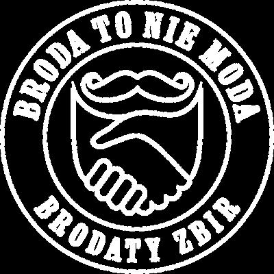 Bluza Broda To Nie Moda logo white