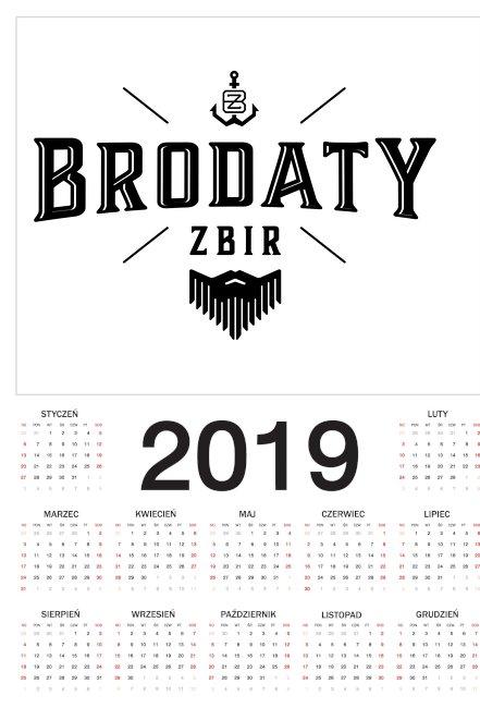 Kalendarz 2019 Brodaty Zbir