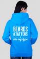 Bluza rozpinana z kapturem Beards Tattoos różne kolory