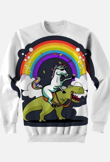 "Bluza ""Riding unicorn"""