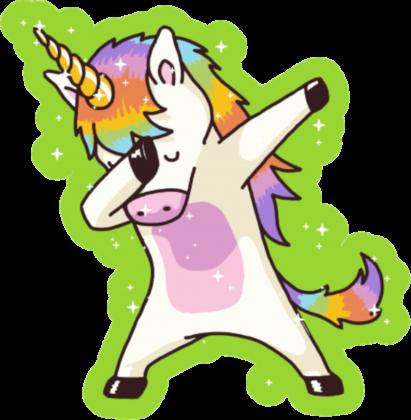 """Damska Bluza """"Dabbing Unicorn"""""""