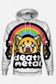 "Bluza z kapturem ""Death Metal"""