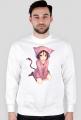 Bluza męska biała - Anime