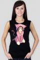 Koszulka bezrękawnik damski - Anime