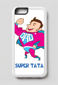 Etui na telefon iPhone 6/6s Super Tata