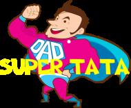 Bokserki męskie Super Tata