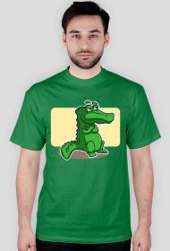 Koszulka z nadrukiem Aligatorek