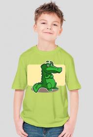 Koszulka dziecieca z nadrukiem Aligatorek
