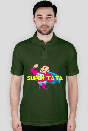 Koszulka polo Super Tata