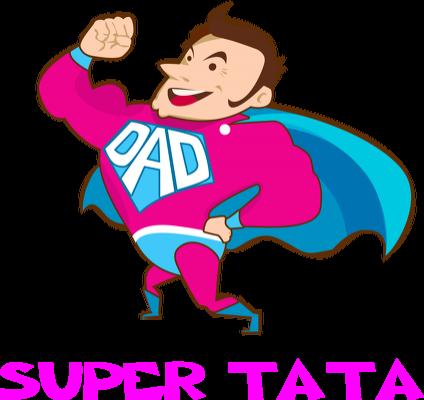 Kamizelka odblaskowa Super Tata