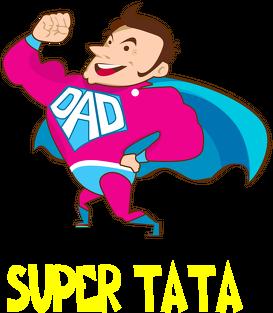Bluza rozpinana z kapturem Super Tata