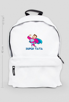 Plecak duży Super Tata
