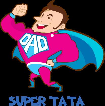 Kubek z uszkiem w kształcie serca Super Tata