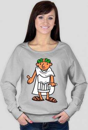 Bluza damska z nadrukiem Ave Cezar