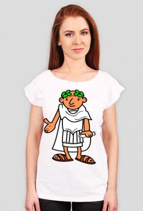 Bluzka damska z nadrukiem Ave Cezar
