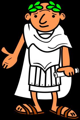 Bluzka z nadrukiem Ave Cezar