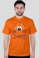 T-Shirt Koszulka z nadrukiem Kot i Śledź
