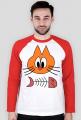 Bluza z nadrukiem Kot i Śledź
