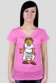 Koszulka z nadrukiem damska Ave Cezar