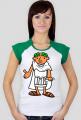 Koszulka damska z nadrukiem Ave Cezar